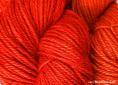 BFL superwash wool dyed with Madder Extra natural dye extract | Wild Colours natural dyes