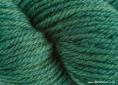 Wool dyed with greenweed extract and indigo