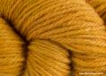 Wool dyed with greenweed and madder extracts
