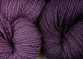 BFL superwash wool dyed with logwood natural dye extract | Wild Colours natural dyes